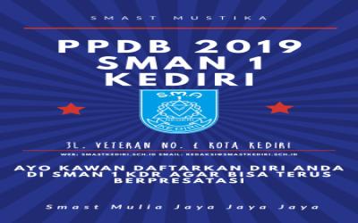 informasi update ppdb SMAN 1 KEDIRI (PPDB 2019)
